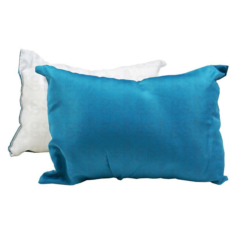 Almofada 20x30 com enchimento - azul claro