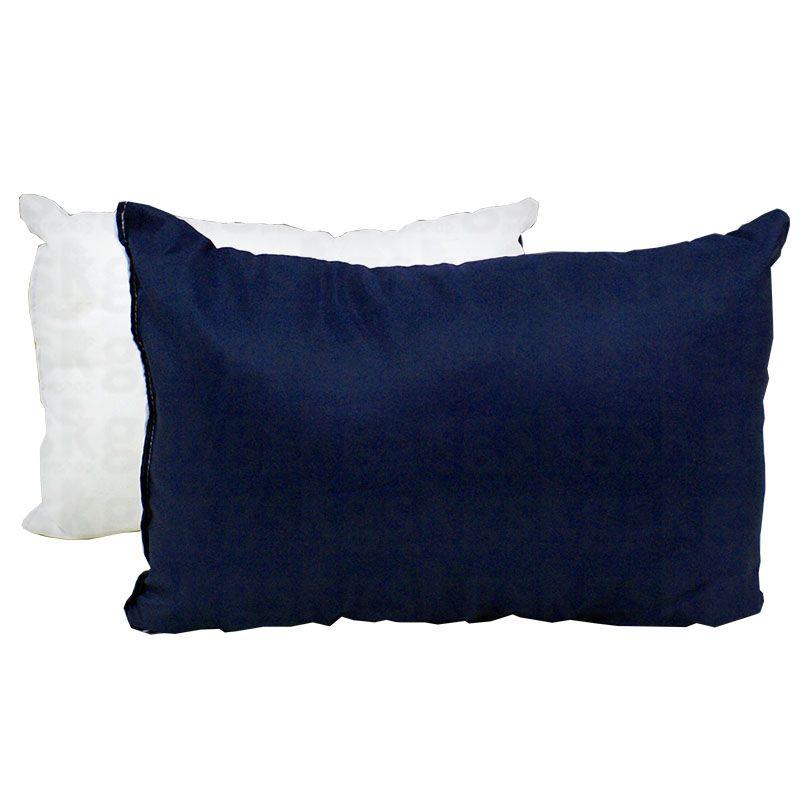 Almofada 20x30 com enchimento - azul escuro