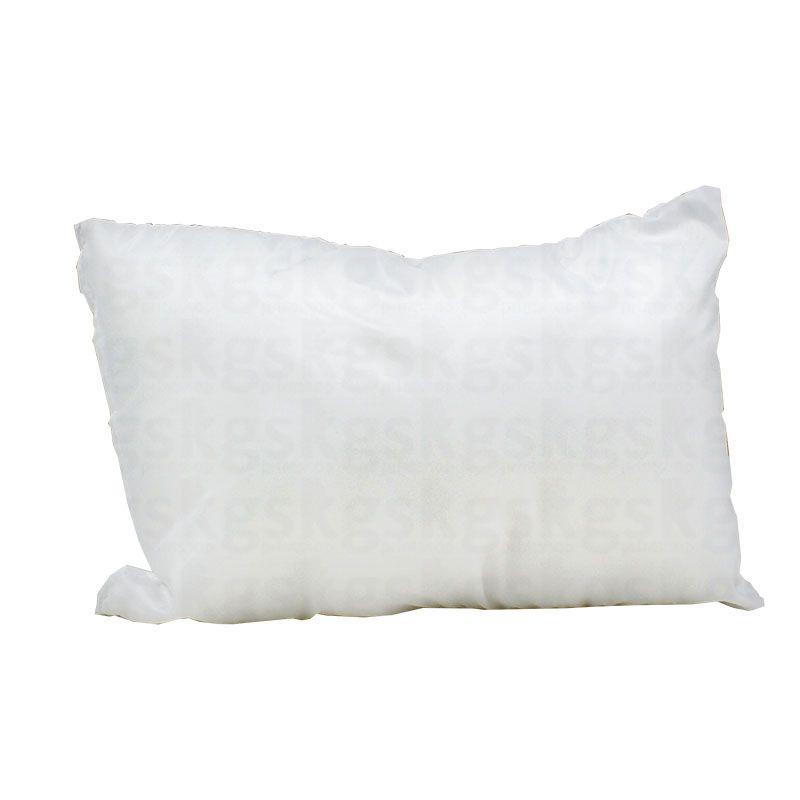 Almofada 20x30 com enchimento - branca