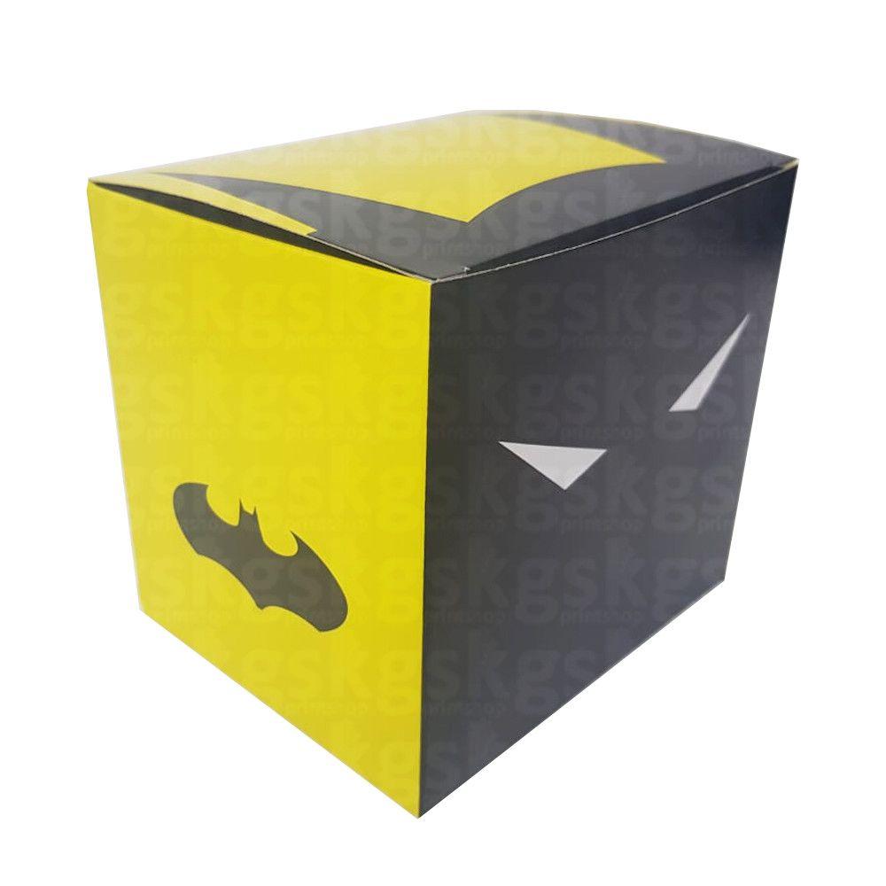 Caixa para caneca Batman - pacote com 10 unidades
