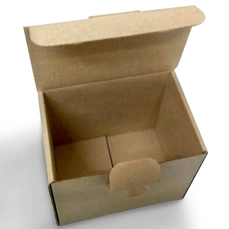 Caixa para caneca cônica/colher - Pacote com 10 unidades