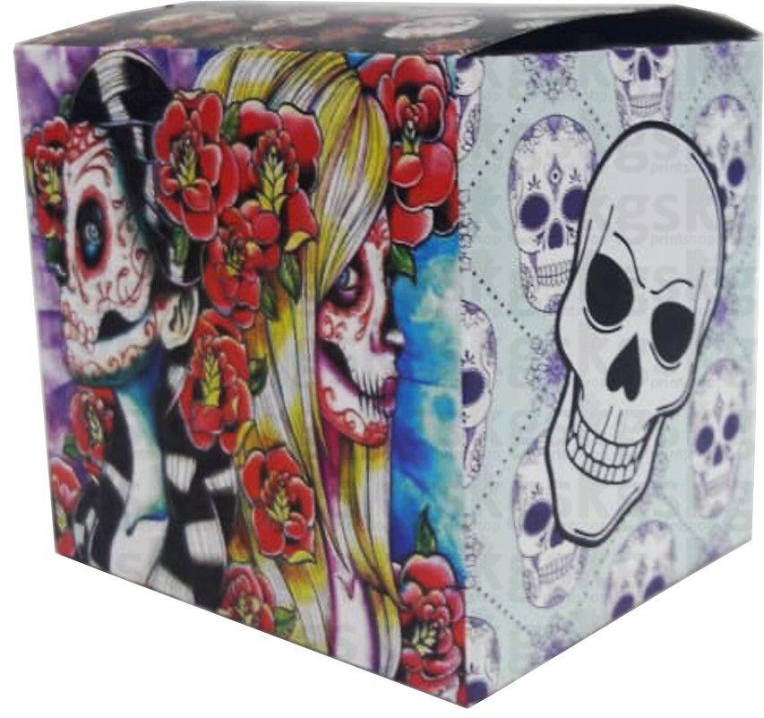 Caixa para caneca gótica - pacote com 10 unidades