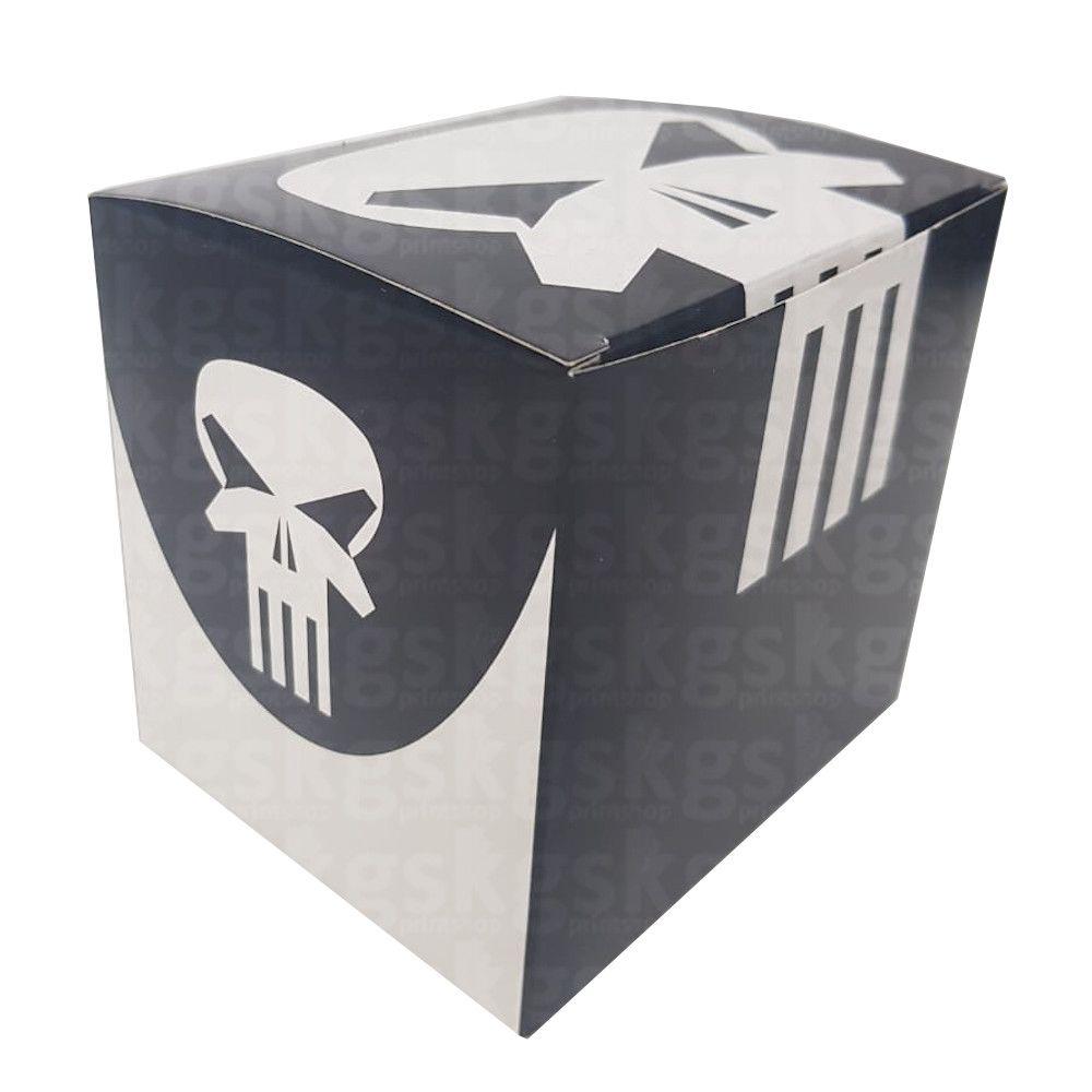 Caixa para caneca Justiceiro - pacote com 10 unidades