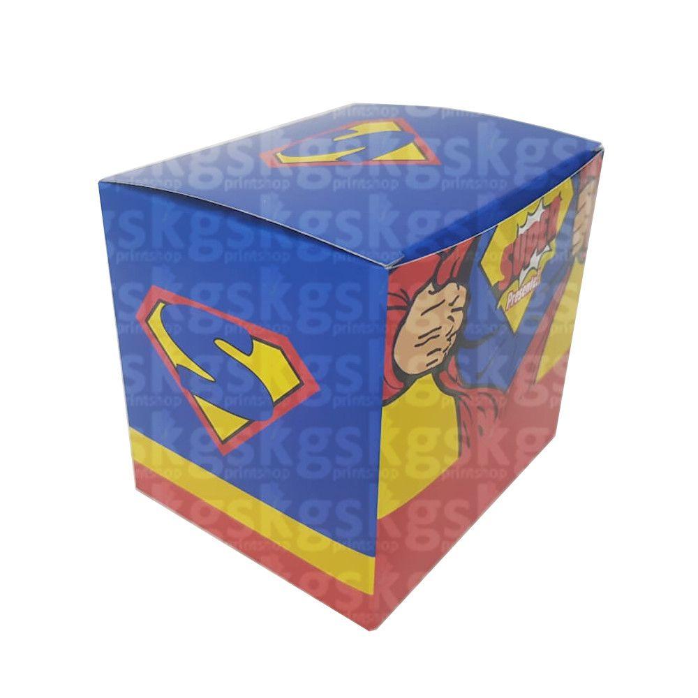 Caixa para caneca Superman - pacote com 10 unidades