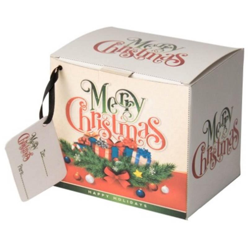 Caixinha para caneca Natal - pacote com 10 unidades