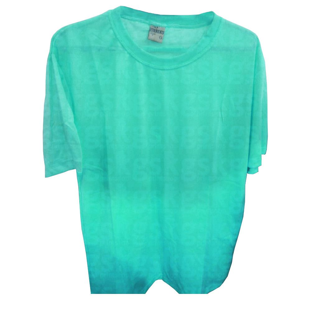 Camiseta poliéster Verde - adulto