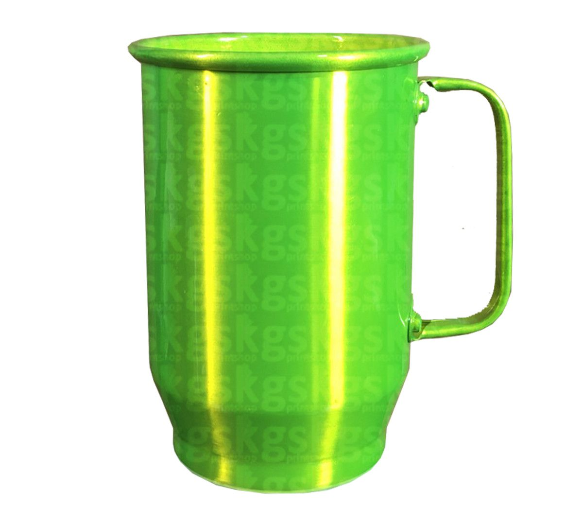 Caneca Alumínio 600ml - Verde Claro