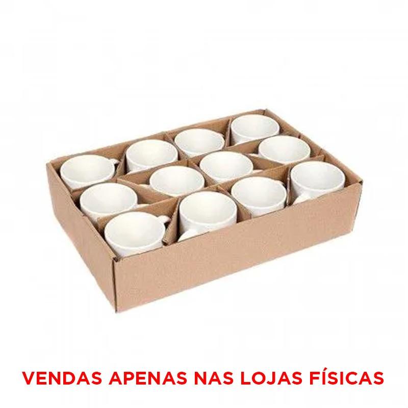 Caneca branca para sublimação AAA (PANDA) - 12 unidades