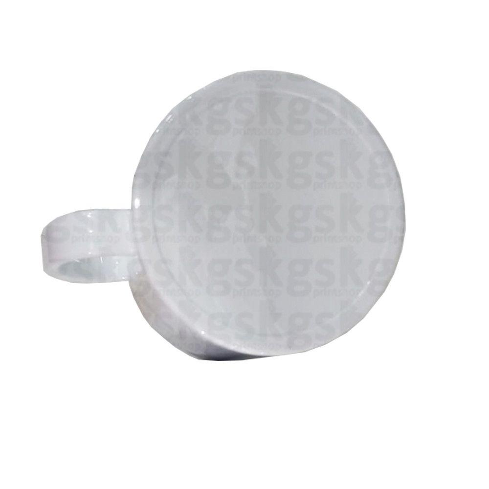 Caneca de polímero branca - (FINA)