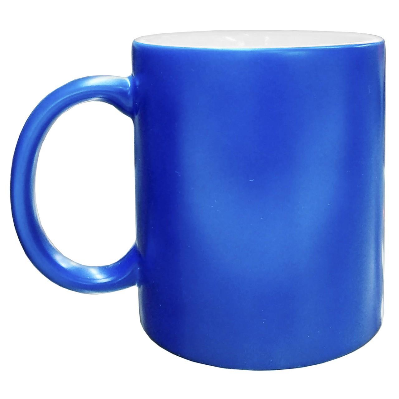 Caneca neon - Azul