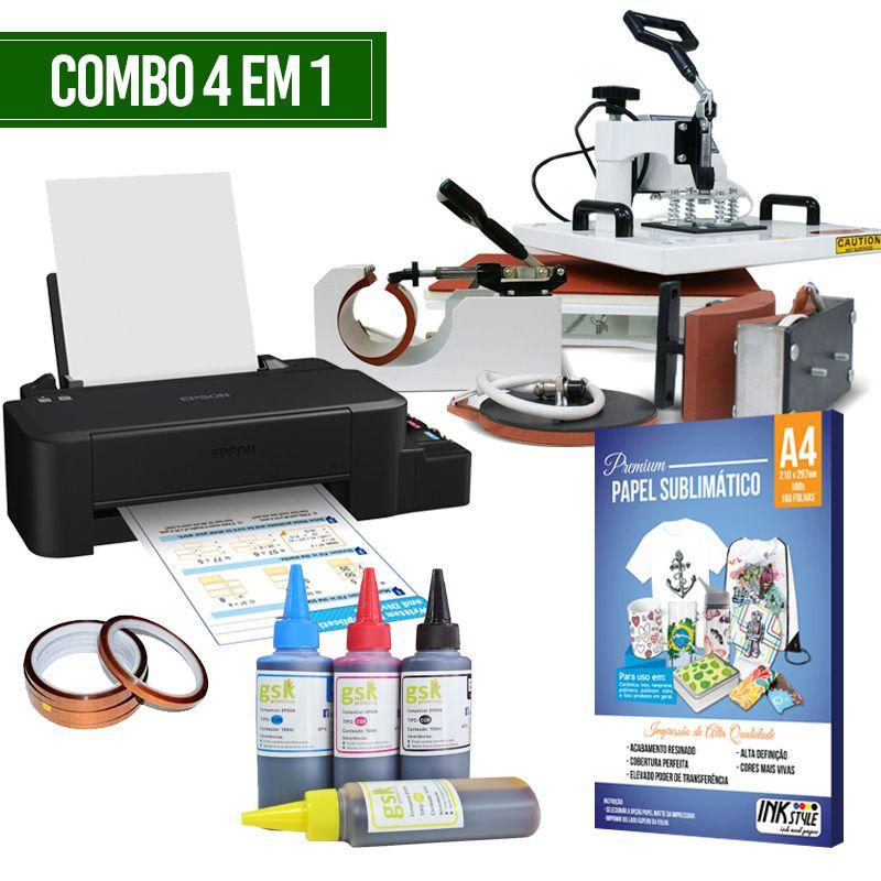 COMBO - PRENSA 4 EM 1