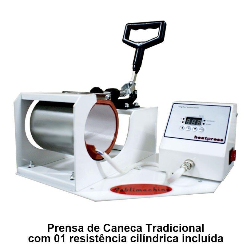 COMBO - PRENSA CANECA TRADICIONAL + L120