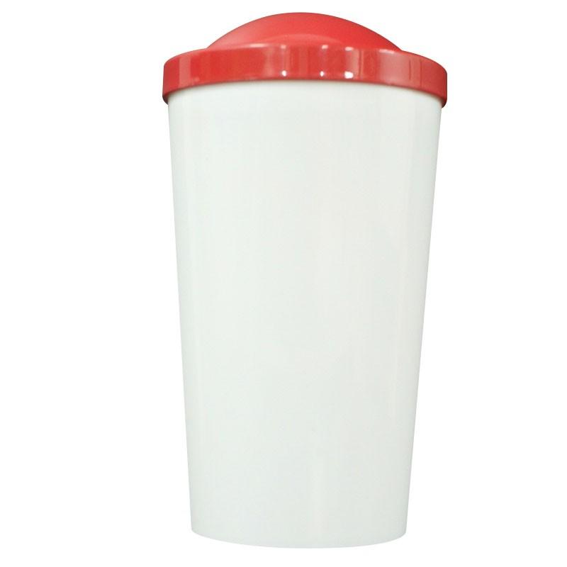 Copo plástico B1 - vermelho