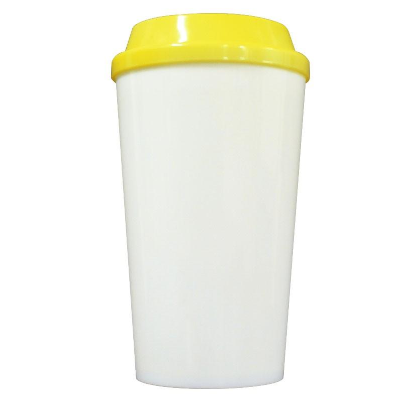 Copo plástico C1 - amarelo