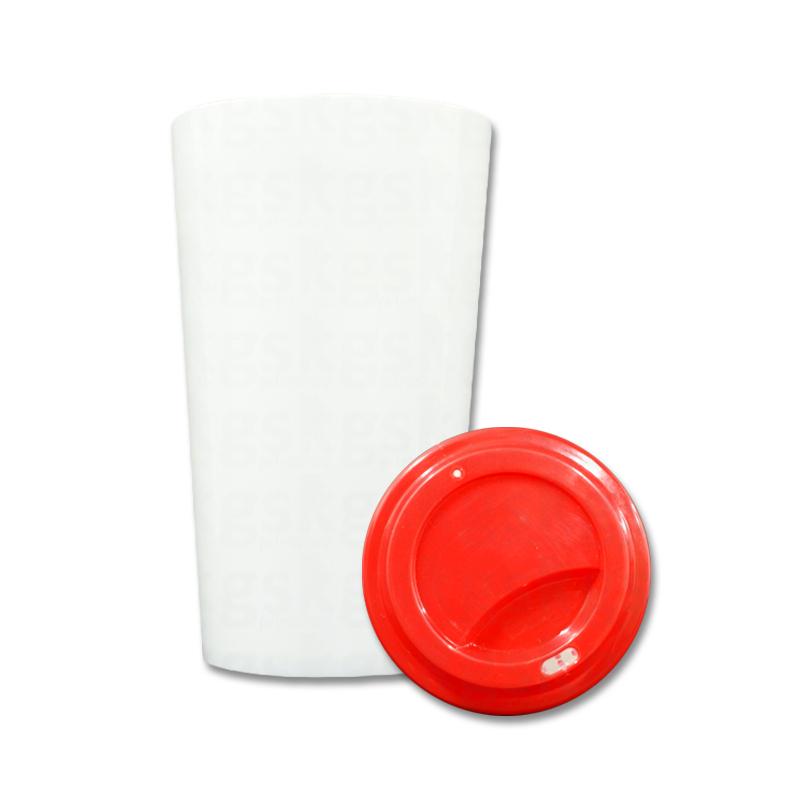 Copo plástico C1 - vermelho