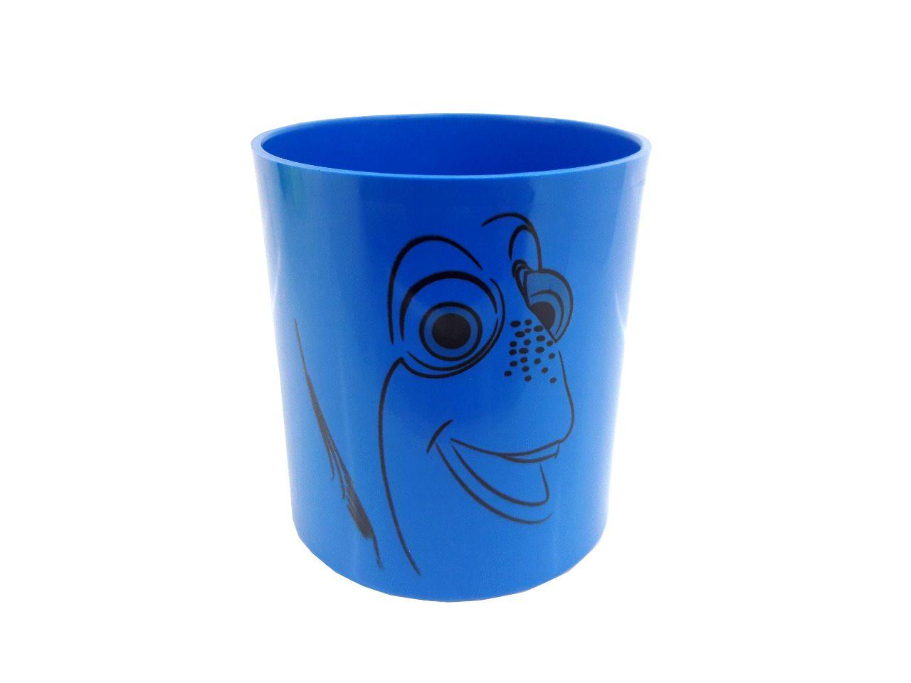 Copo Plástico Colorido - azul royal