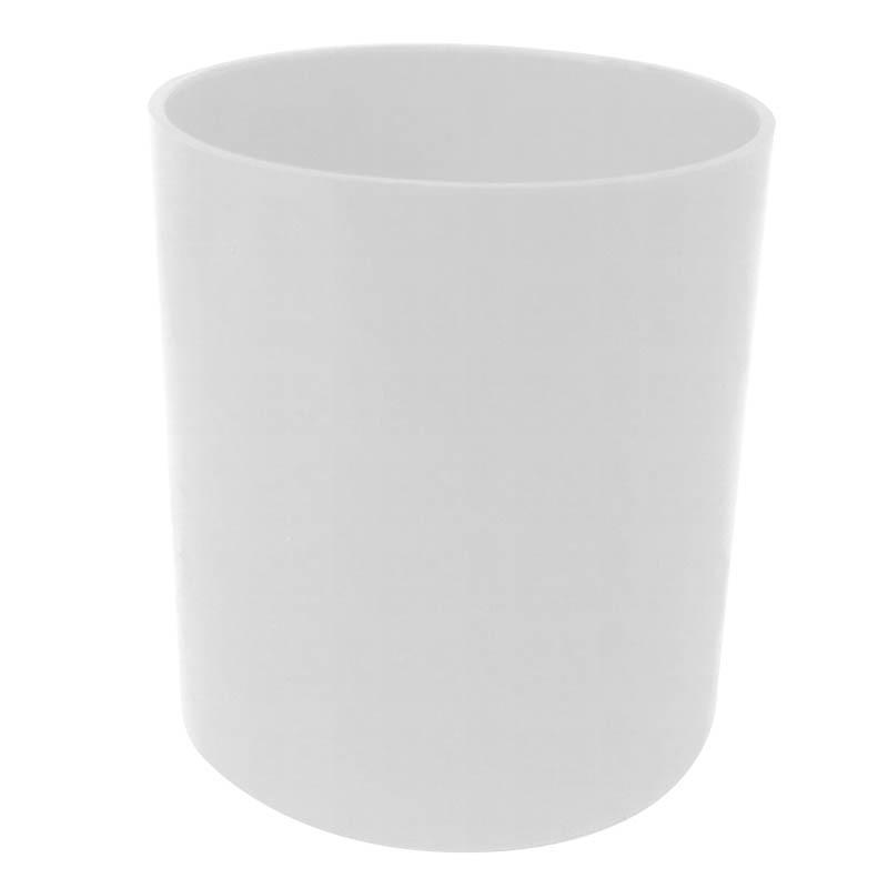 Copo Plástico Colorido - branco