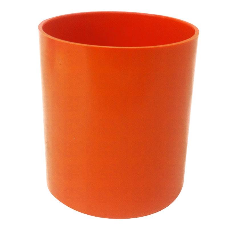 Copo Plástico Colorido - laranja