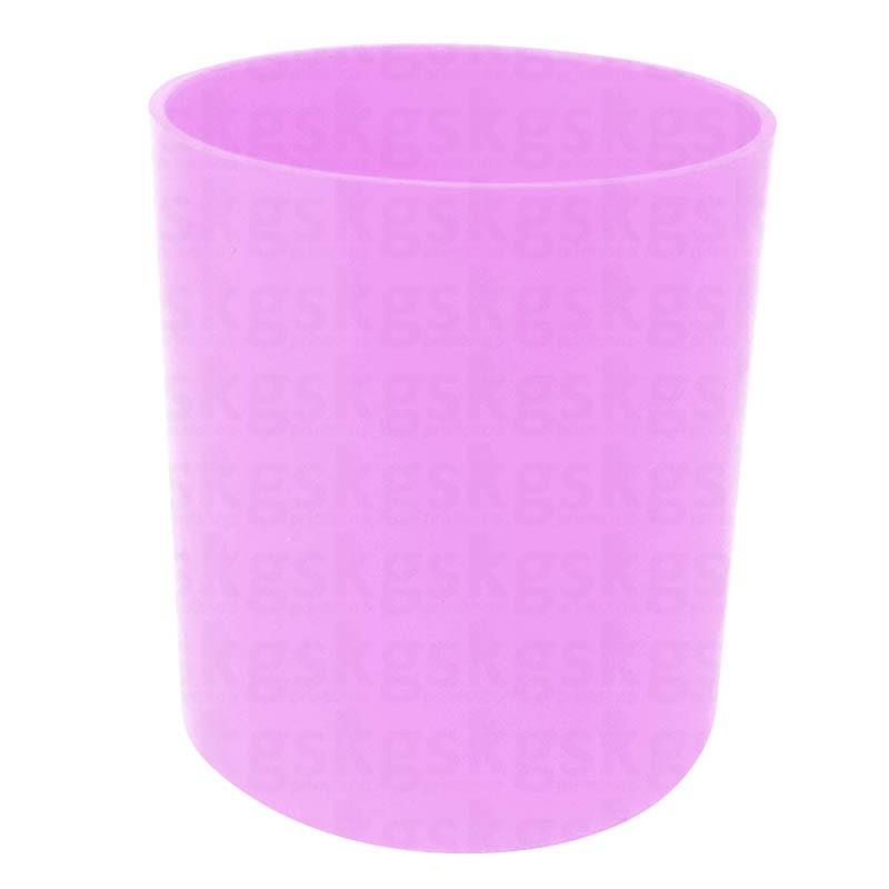 Copo Plástico Colorido - rosa claro