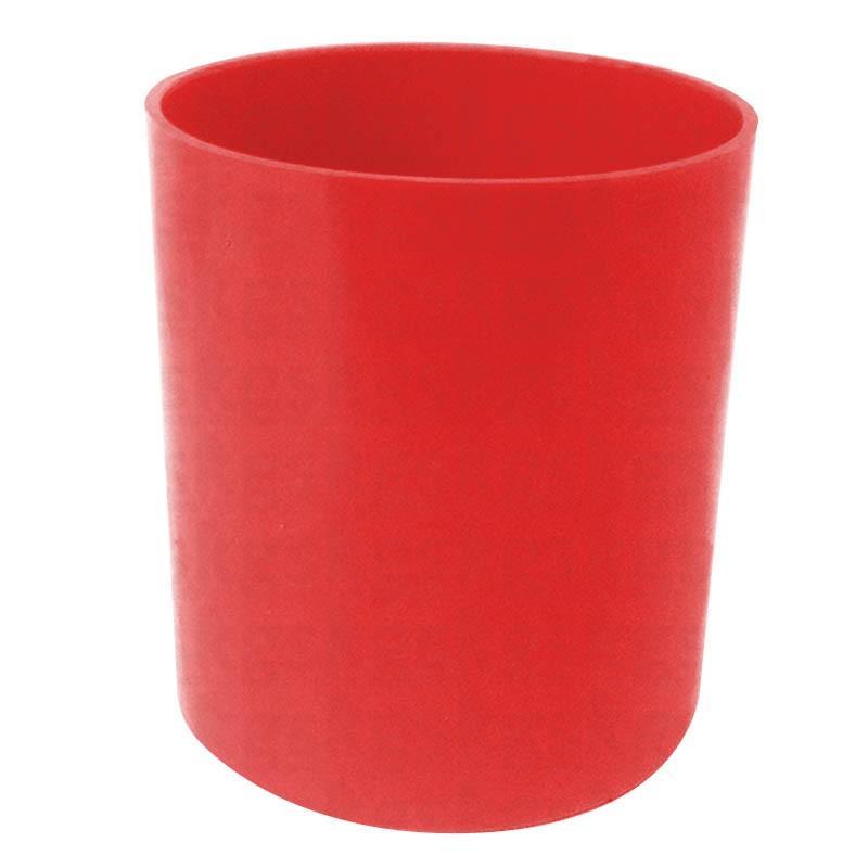 Copo Plástico Colorido - vermelho