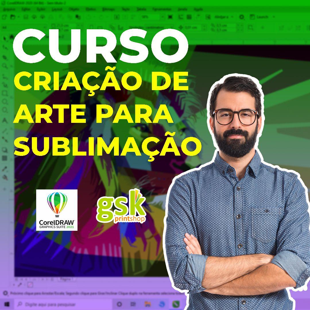 CURSO CRIAÇÃO DE ARTE PARA SUBLIMAÇÃO - PRESENCIAL