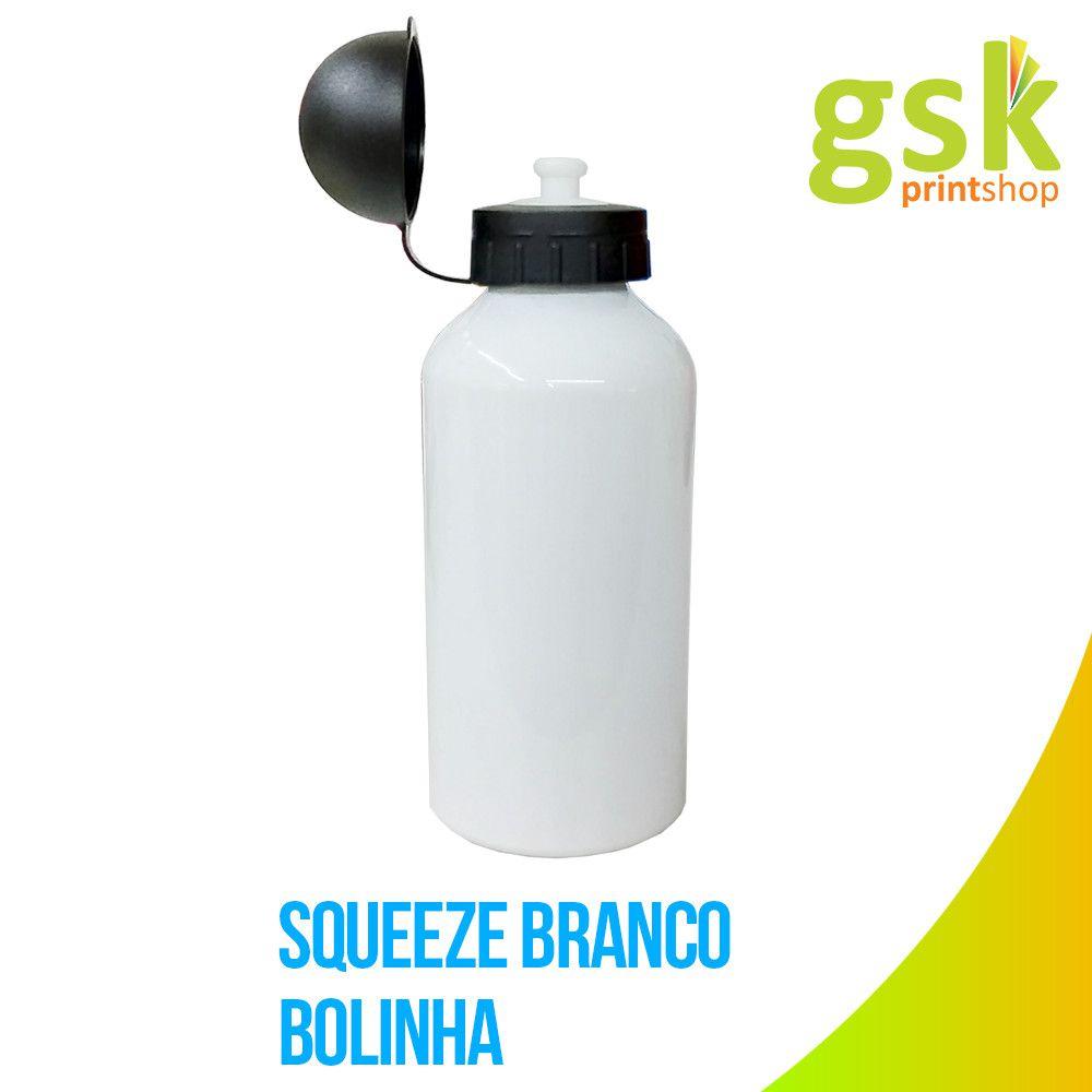 KIT - 10 SQUEEZE BOLINHA - BRANCO