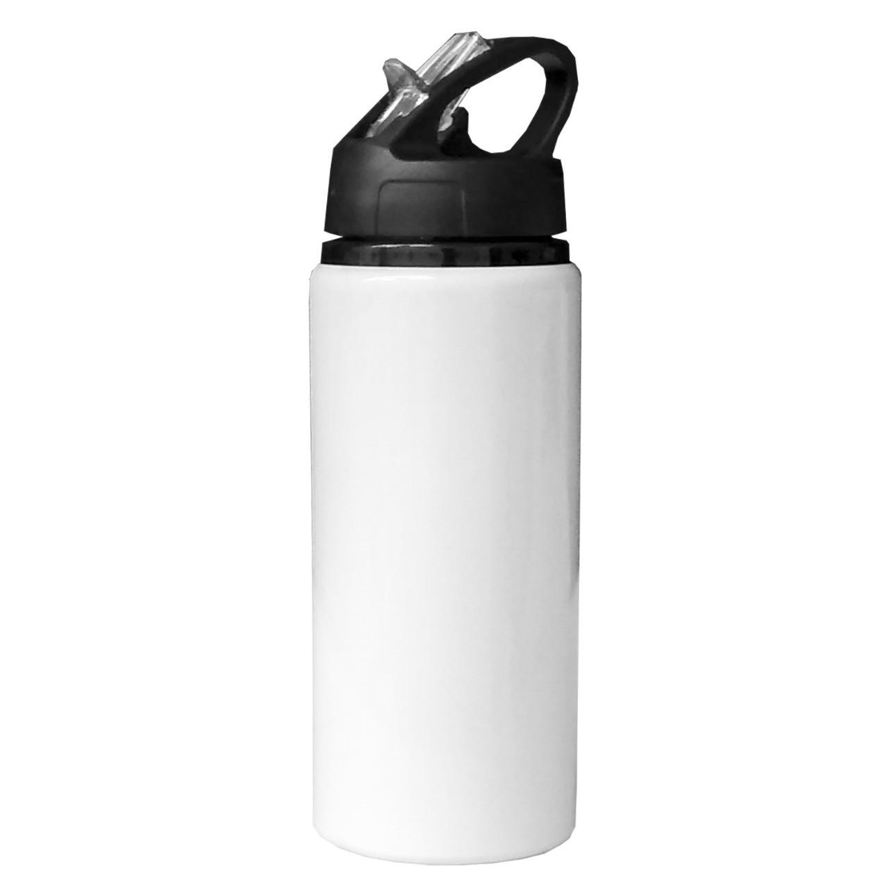 Squeeze Nike branco - 600ml sublimável com caixinha