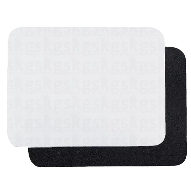 Mouse pad E.V.A retangular para sublimação - 5 unidades