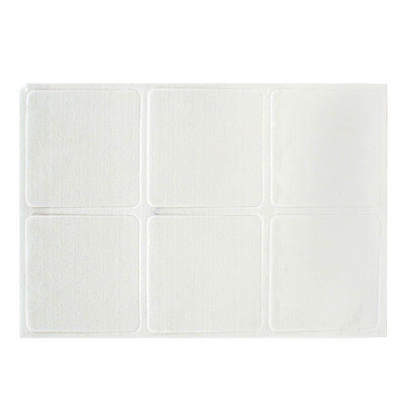 Porta-copo (bolacha de chopp) PET 6 unidades - quadrado