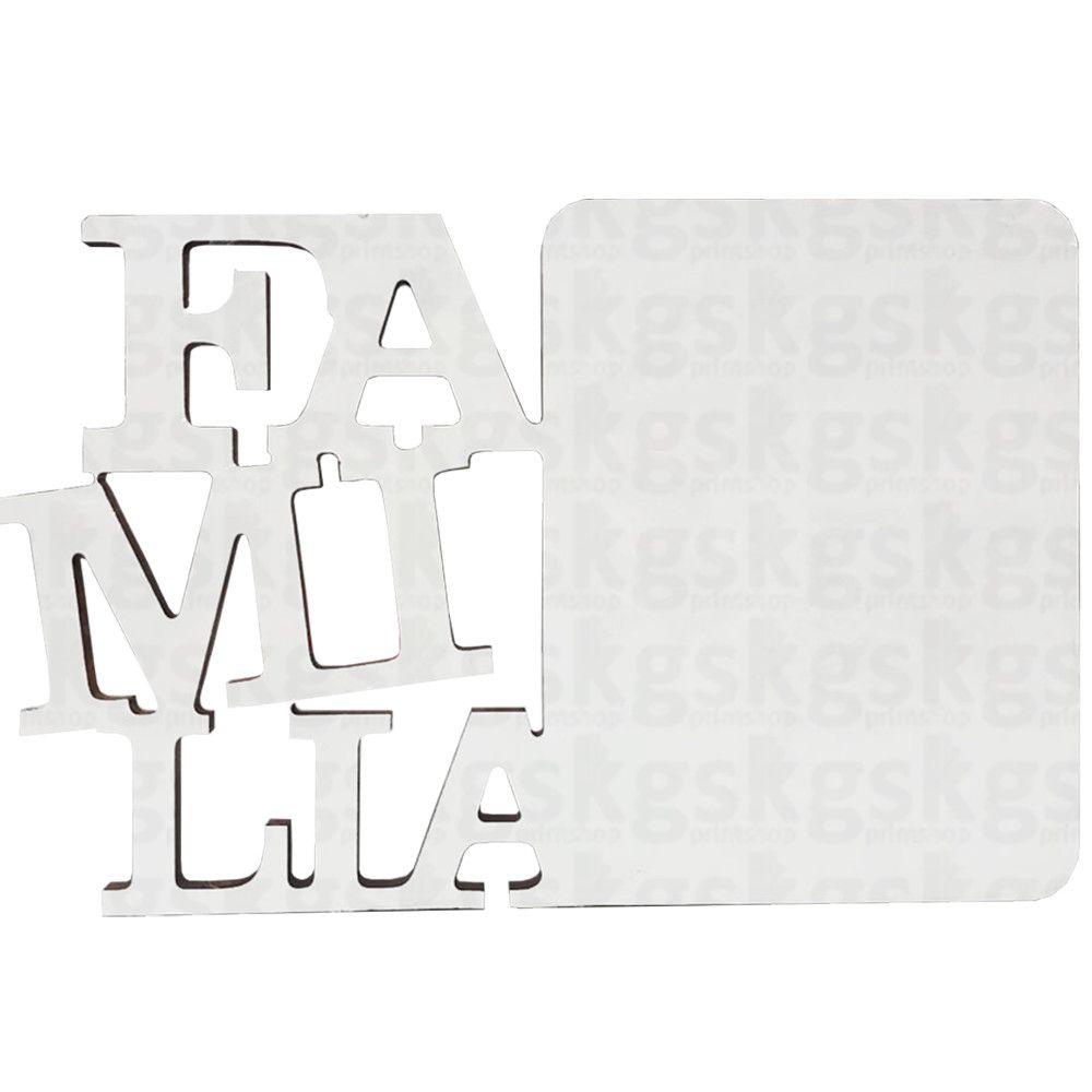 Porta-Retrato MDF - Família