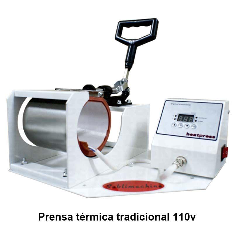 Prensa de Caneca Tradicional + Brindes - para sublimação
