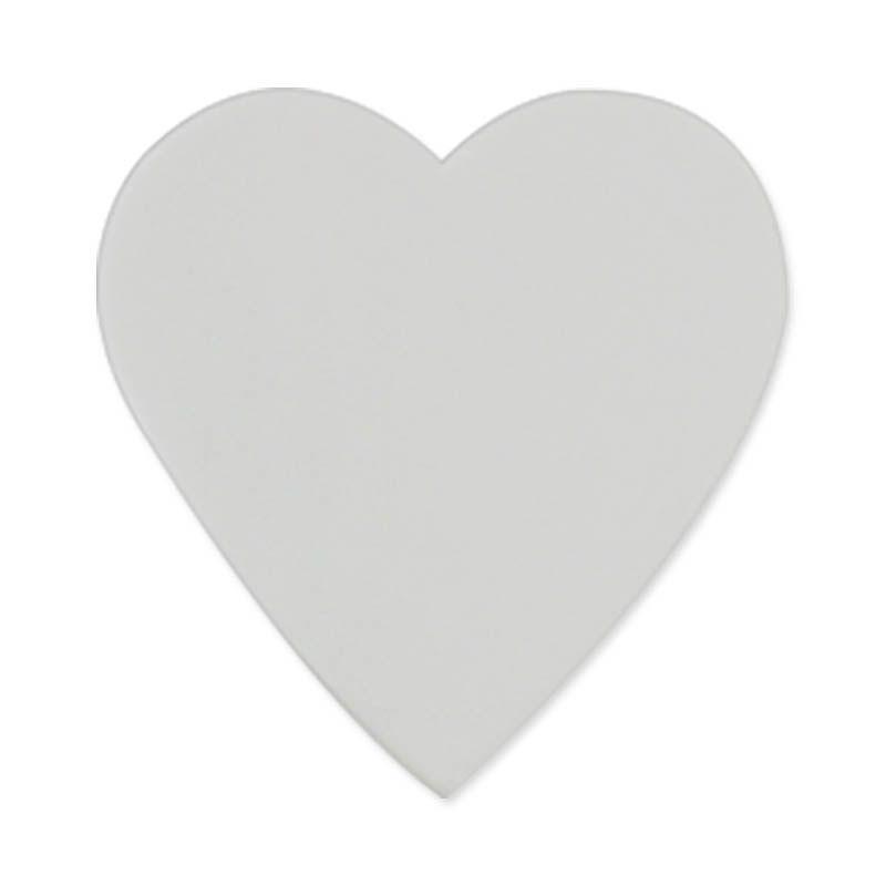 Sinalização em PET adesivado 6 unidades - coração