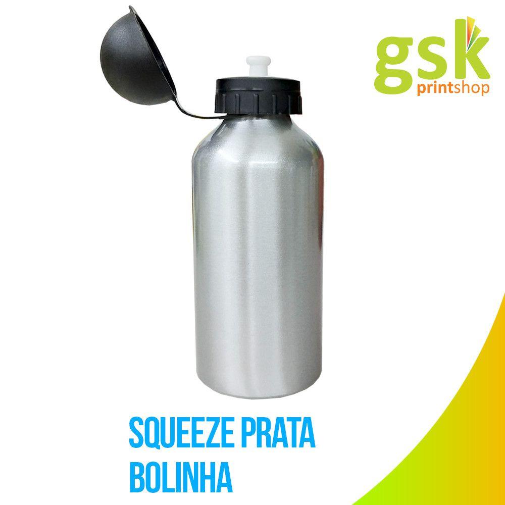 Squeeze Bolinha - Prata