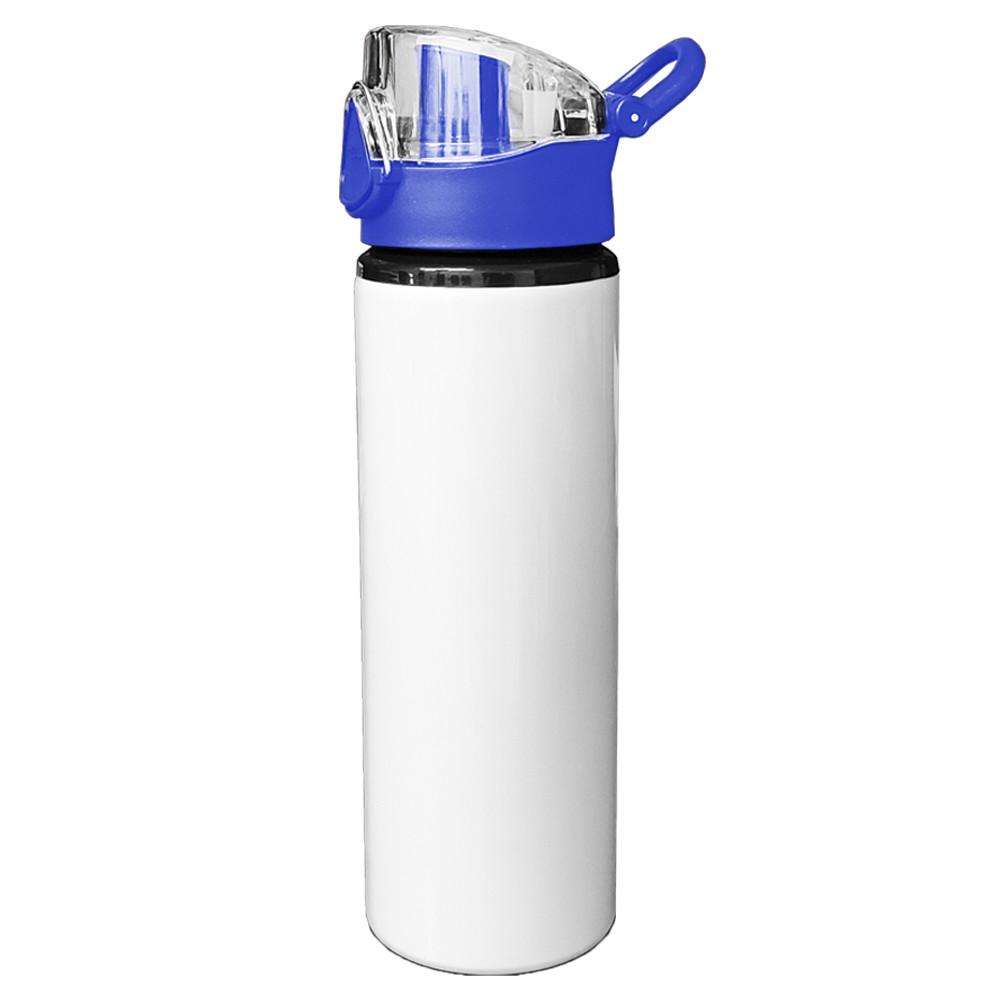 Squeeze de Alumínio 750ml branca colorida - com caixinha