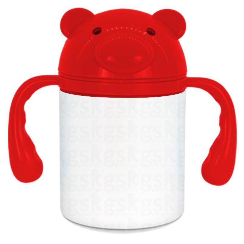 Squeeze infantil 250ml - vermelho