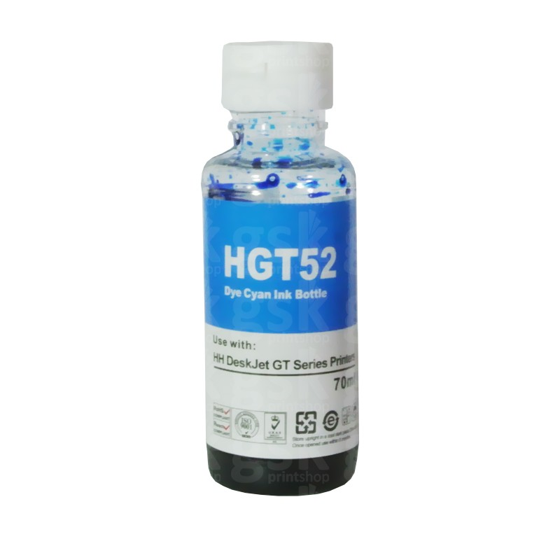 Tinta corante HP GT - Ciano