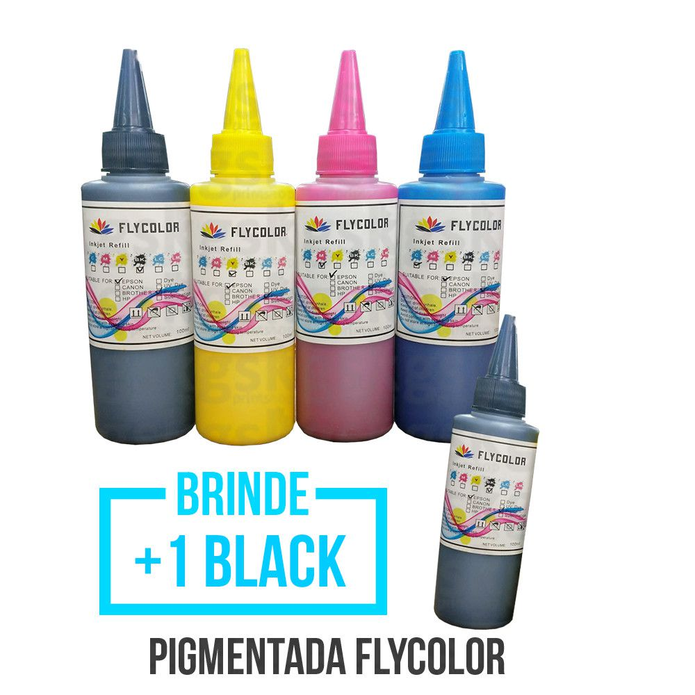 KIT Tinta pigmentada - 100ml + Brinde