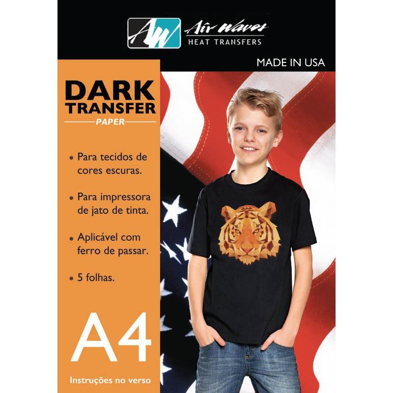 Transfer Dark - jato de tinta
