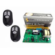 Placa Central Motor Para Portão Eletrônico + Dois Controles