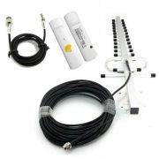 Antena Celular para Vivo Internet com Modem 3g + Cabo 15 metros + Adaptador