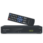 Receptor Analógico Digital Para antena Parabólica Tv Via Satélite Elsys Duomax