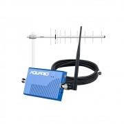Mini Repetidor De Sinal De Celular E 3g 850MHz RP 860 Aquário + Antena E Cabo 15 M