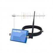 Mini Repetidor De Sinal De Celular 900MHz RP 960 Aquário + Antena E Cabo 15 M