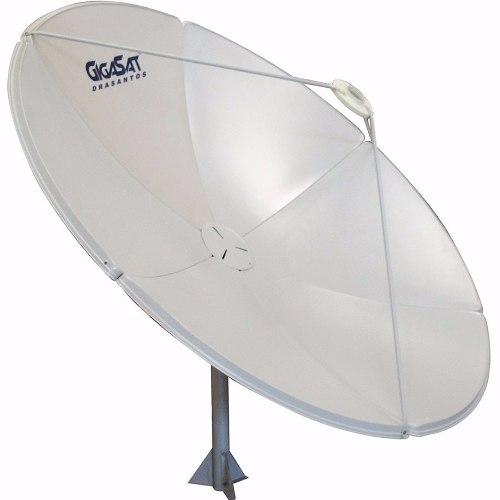 Antena Parabólica Completa Multiponto Digital Hd 180cm
