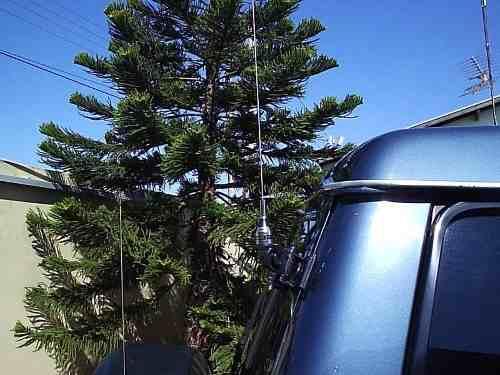 Antena Aquario Completa Móvel Radio Amador Vhf ou Uhf m-300c