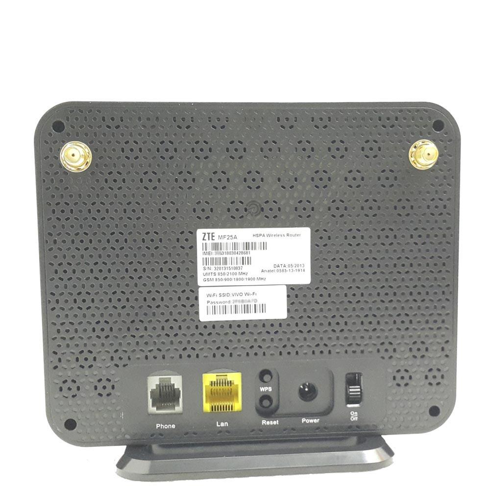 Kit Internet 3g Rural Wifi Roteador Slot Chip Rj11 2g 4g