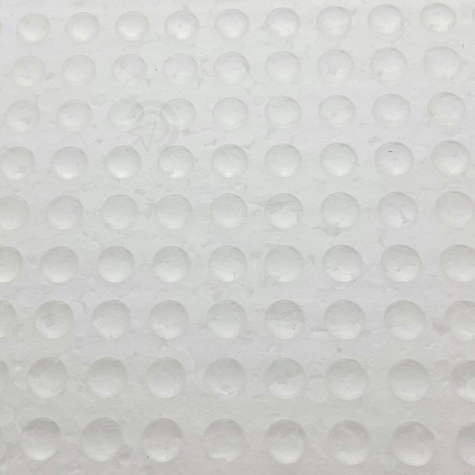 Protetor Batente De Silicone Redondo 8mm Multiuso Com Cola (gotas De Silicone)
