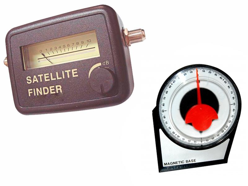 Kit Localizar Satélite Antena Parabólica Finder Inclinômetro
