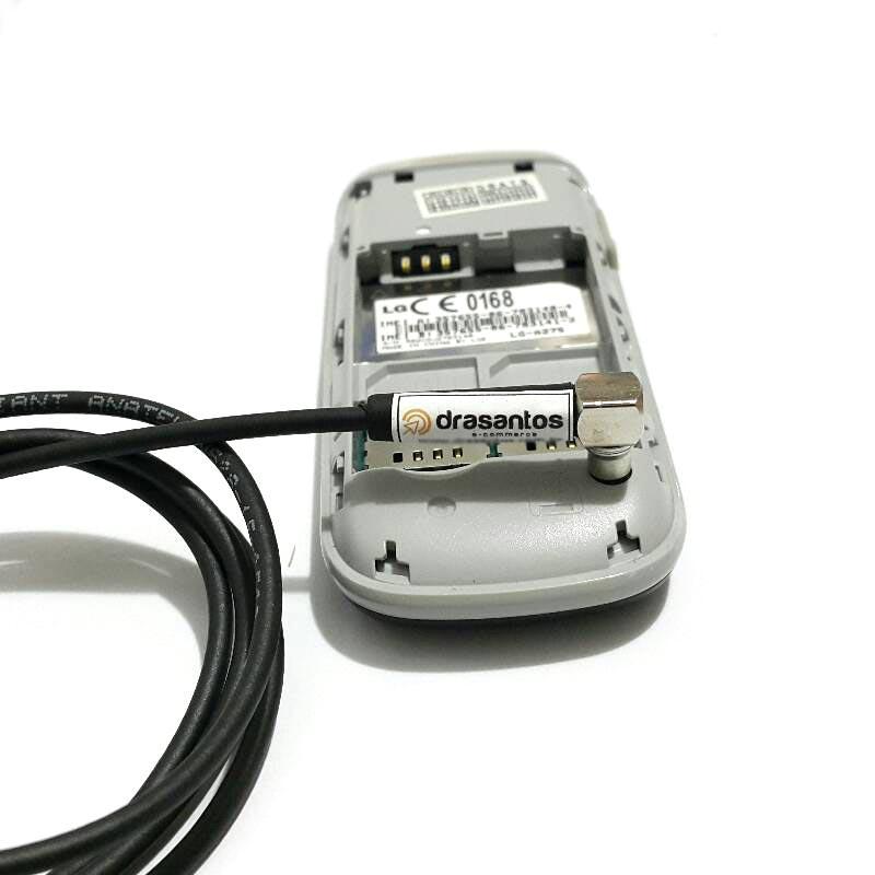 Kit Adaptador P/ Lg B220 Antena Celular Externa Rural