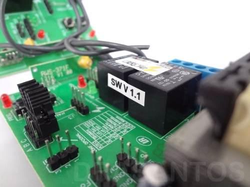 Central Placa Universal Para Motor Portão + Capacitor
